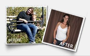 Emily York weight loss testimonial before and after photos