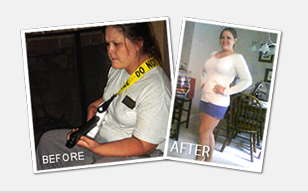 Meagan Merwin weight loss testimonial before and after photos